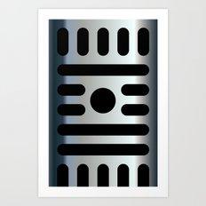 Micro iPhone Art Print