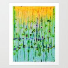Strings Art Print