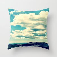 Costa Rican Clouds Throw Pillow