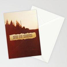 wonder + wander. Stationery Cards