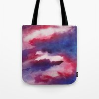 Clouds - abstract watercolor 01 Tote Bag