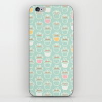 Potted Plants Pastels iPhone & iPod Skin