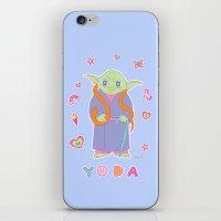 Yoda Sticker Magic iPhone & iPod Skin