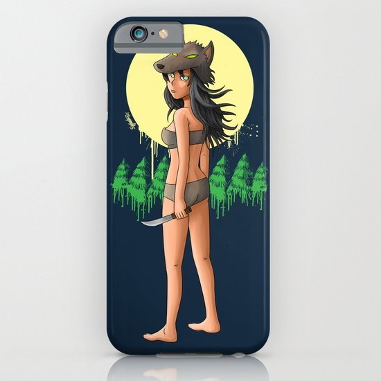 The Girl Who Killed the Boy Who Cried Wolf iPhone & iPod Case
