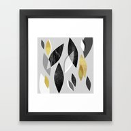 Framed Art Print featuring Falling Leaves by Elisabeth Fredriksso…