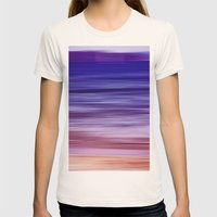 Purple Haze Womens Fitted Tee Natural SMALL