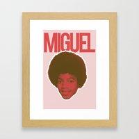 Miguel Framed Art Print