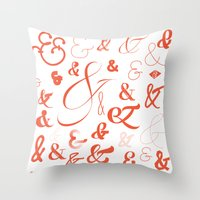 Ampersand Stories 2 Throw Pillow