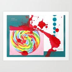 Swizzle Stick Art Print