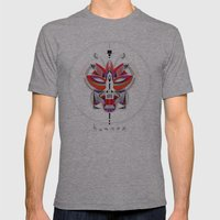 FOX-2 Mens Fitted Tee Athletic Grey SMALL