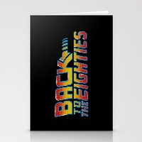 Back To The Eighties Stationery Cards