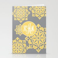 Floral Designs With Yell… Stationery Cards
