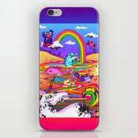 Oil Spill iPhone & iPod Skin