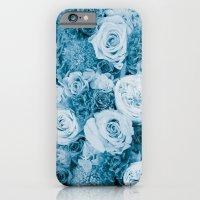 Bouquet ver.bluegreen iPhone 6 Slim Case