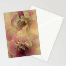 The mystery of orchid(gold). Stationery Cards