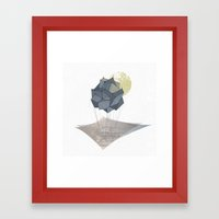 The Rock of Humanity Framed Art Print