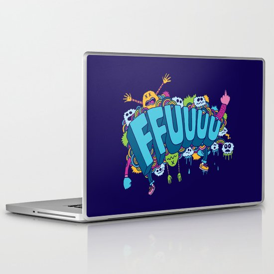 FFUUUU Laptop & iPad Skin