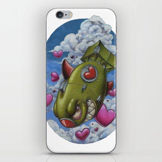 Love Bomb iPhone & iPod Skin