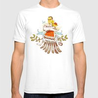 Making The Plans Mens Fitted Tee White SMALL