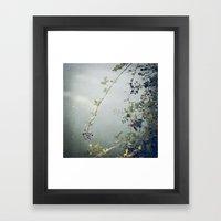 Wild Berries Framed Art Print