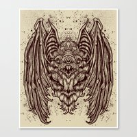 Theres A BAT! Canvas Print