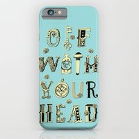 iPhone & iPod Case featuring Off With Your Head by ilana exelby