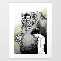 Dream 4: Facing the Shadow Art Print