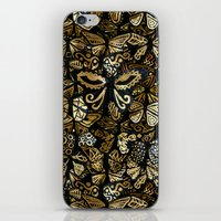 Swarm Of The Butterflies iPhone & iPod Skin