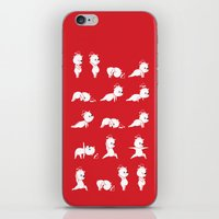 Yoga Bear - Polar Bear iPhone & iPod Skin
