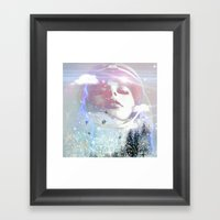 Techtonic shift Framed Art Print