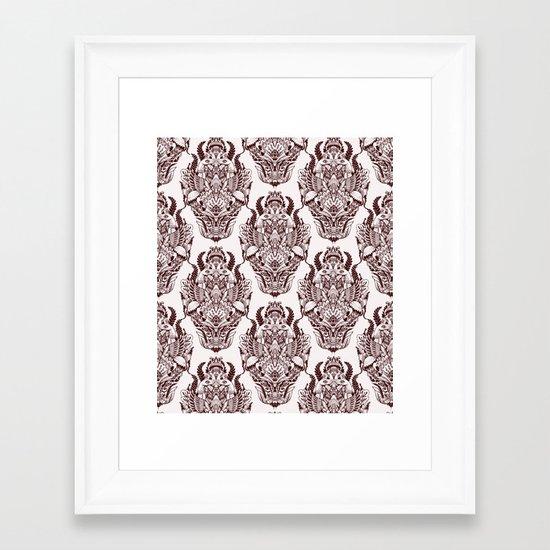 wallpaper design Framed Art Print
