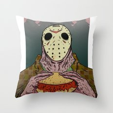 Friday The 14th Throw Pillow