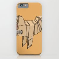 iPhone & iPod Case featuring Space Chicken by Les Gordon