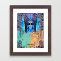 Le Chariot Framed Art Print
