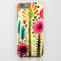 iPhone & iPod Case featuring printemps by sylvie demers