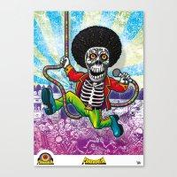 Poster Funkadelik Canvas Print