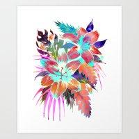 Hana Flower Art Print