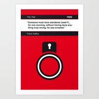No013 MY The Trial Book … Art Print