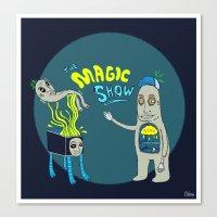 The Magic Show Canvas Print