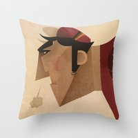 Diaul Throw Pillow