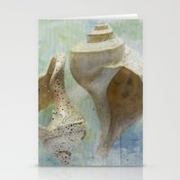 Channeled Whelks Stationery Cards