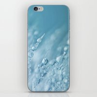 Blue Drops iPhone & iPod Skin