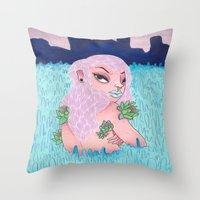 Lucid Dreaming Throw Pillow