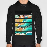Waves Of The Mountains Hoody