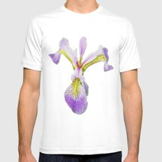 Lily White SMALL Mens Fitted Tee