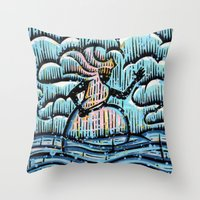 Orixás - Ewá Throw Pillow