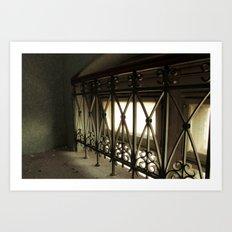 LOST PLACES - hidden bridge Art Print
