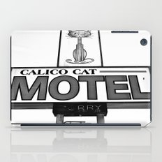 Cool cat motel iPad Case