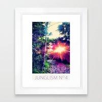 Junglism 4 Framed Art Print