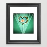 Heart Container  Framed Art Print